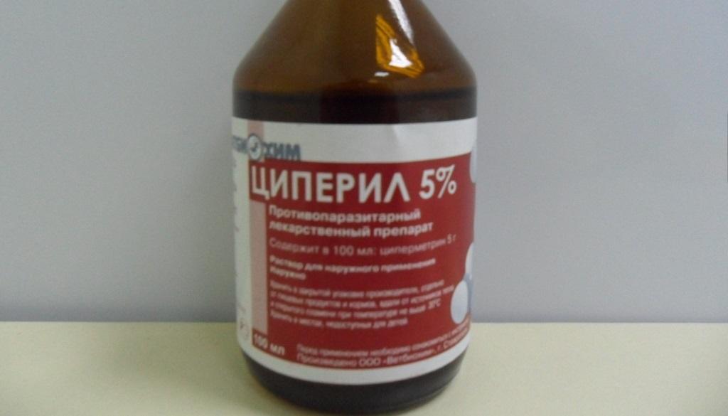 Химические препараты от клеща