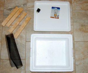 Изготовление инкубатора своими руками: подробная инструкция