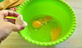 Вес желтка, белка и скорлупы куриных яиц