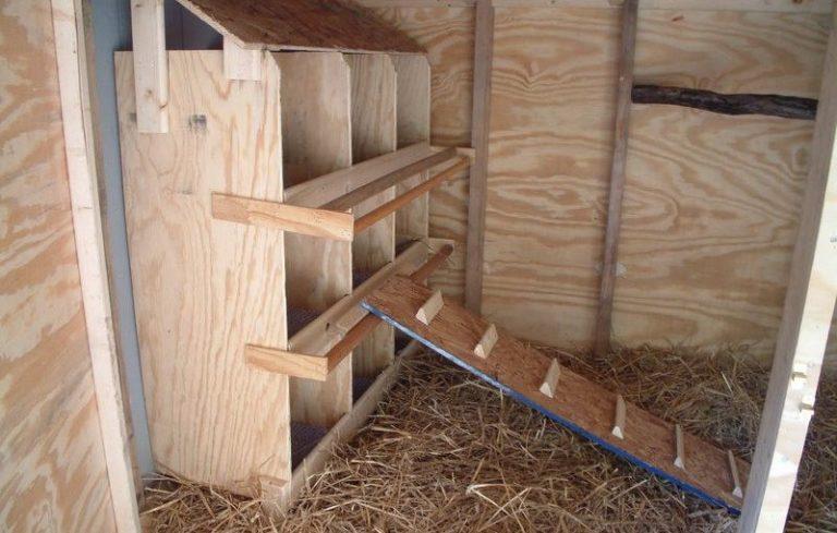 Легкая прочная лестница своими руками 50