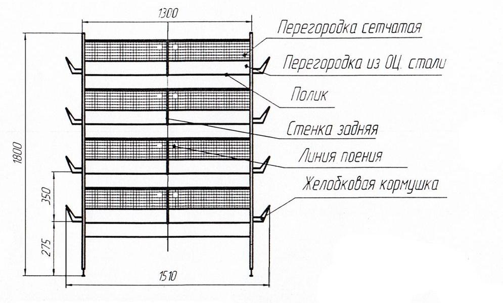 Подготовка к изготовлению клетки – чертежи, материалы, инструменты