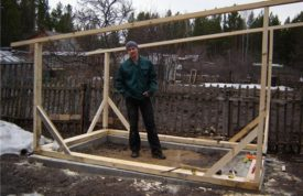 Пошаговая инструкция строительства курятника на 50 кур