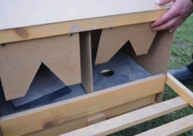 Изготовление гнезд с яйцесборником