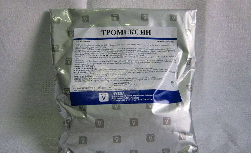 Препарат Тромексин для кроликов
