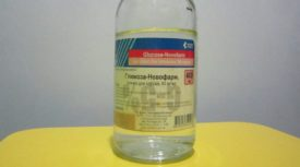 Глюкоза в бутылке