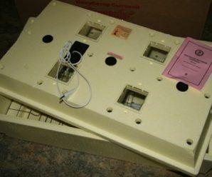 Удобный и практичный: инкубатор «Золушка» на 98 яиц с автоматическим поворотом