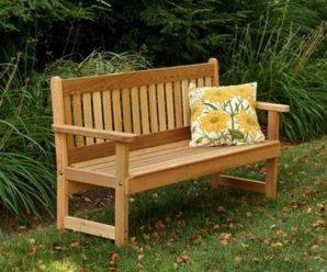 Особенности применения садовой скамейки