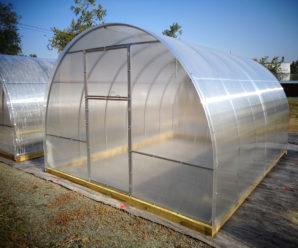Плюсы теплицы из поликарбоната с открывающейся крышей